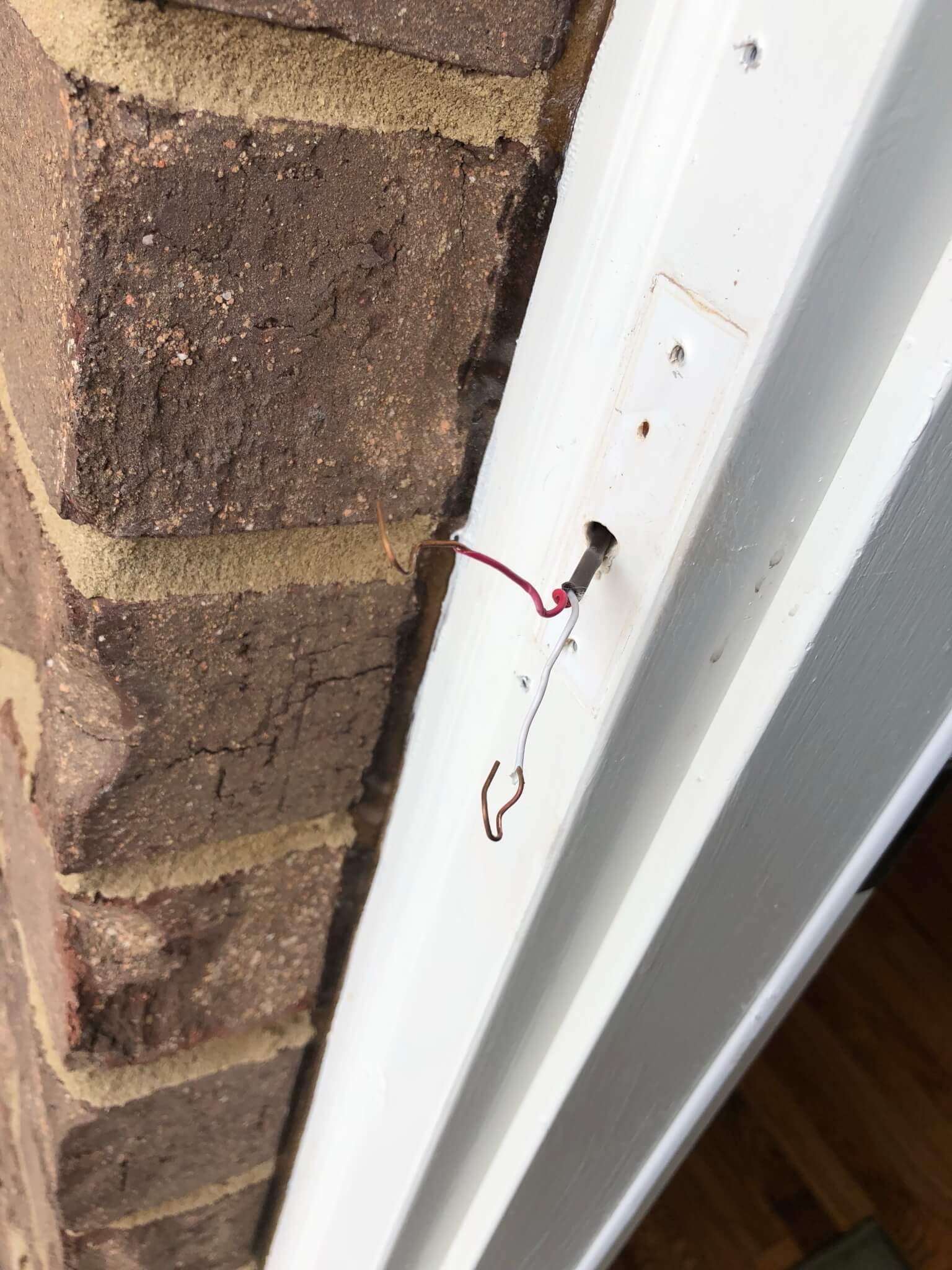 Installing The Nelly Security Wifi Video Doorbell Automated Home Party Household Wiring Now You Just Need To Connect Everything Ive See Says Way Wires Are Connected Dont Matter But When I Mine