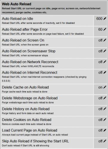 Web Auto Reload